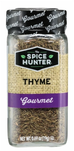 The Spice Hunter Gourmet Thyme Perspective: front