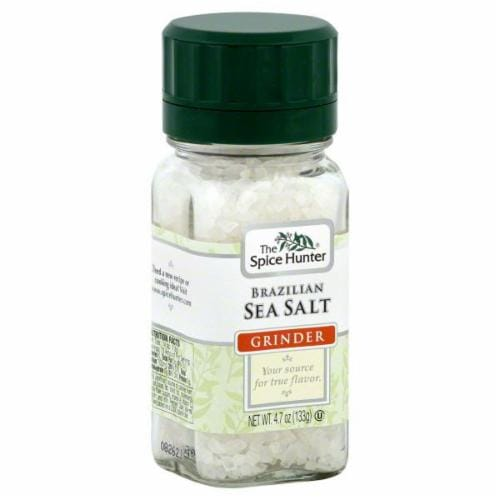 The Spice Hunter Brazilian Sea Salt Grinder Perspective: front