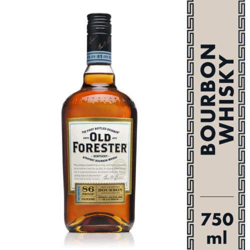 Old Forester Kentucky Straight Bourbon Whisky Perspective: front