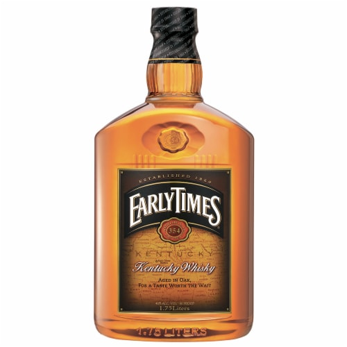 Early Times Kentucky Whisky Perspective: front