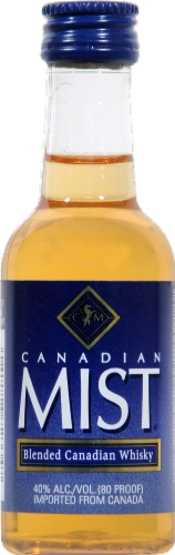 Canadian Mist Blended Canadian Whisky Perspective: front