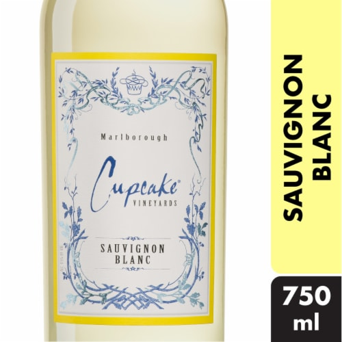 Cupcake Vineyards Sauvignon Blanc White Wine Perspective: front