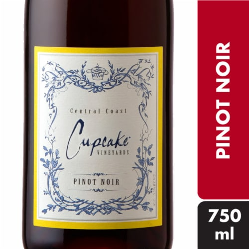 Cupcake Pinot Noir Red Wine Perspective: front