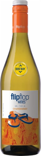 Flipflop Chardonnay White Wine Perspective: front