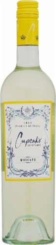 Cupcake Vineyards White Moscato Perspective: front