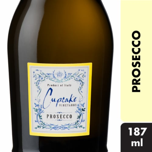 Cupcake Vineyards Prosecco Sparkling Wine Perspective: front