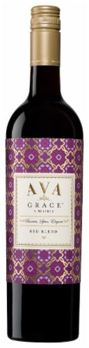 Ava Grace Vineyards Red Blend Wine Perspective: front