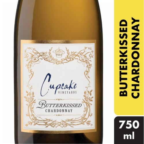 Cupcake Butterkissed Chardonnay White Wine Perspective: front