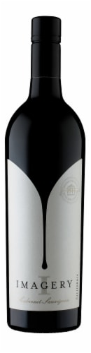 Imagery California Cabernet Sauvignon Red Wine Perspective: front