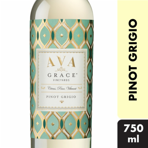 Ava Grace Pinot Grigio White Wine Perspective: front