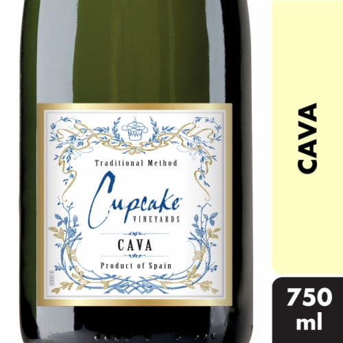 Cupcake Vineyards Cava Sparkling Wine Perspective: front
