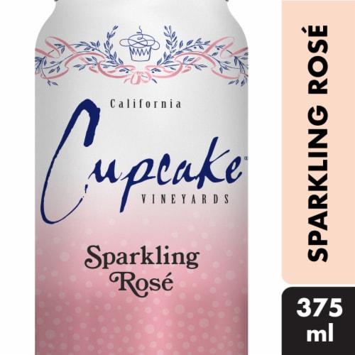 Cupcake Vineyards Sparkling Rose Wine Perspective: front