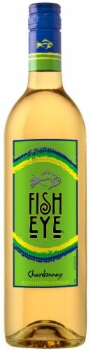 FishEye Winery Chardonnay White Wine Perspective: front