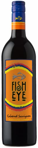 FishEye Winery Cabernet Sauvignon Red Wine Perspective: front