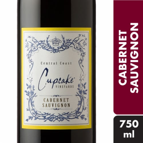 Cupcake Vineyards Cabernet Sauvignon Red Wine Perspective: front