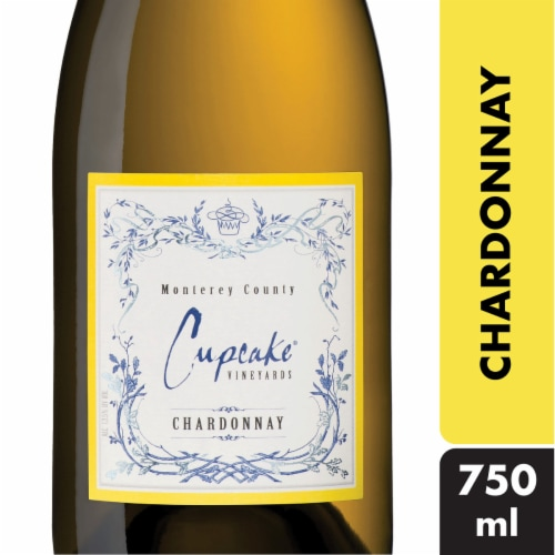 Cupcake Vineyards Chardonnay White Wine Perspective: front