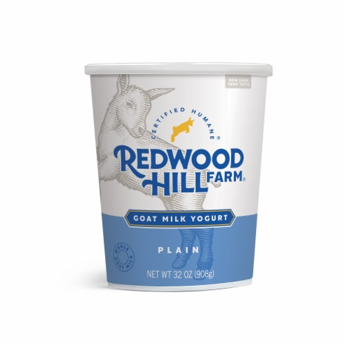Redwood Hill Farm Plain Goat Milk Yogurt Perspective: front