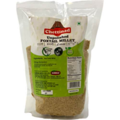 Chettinad Pearled (Unpolished) Foxtail Millet - 2 Lb Perspective: front