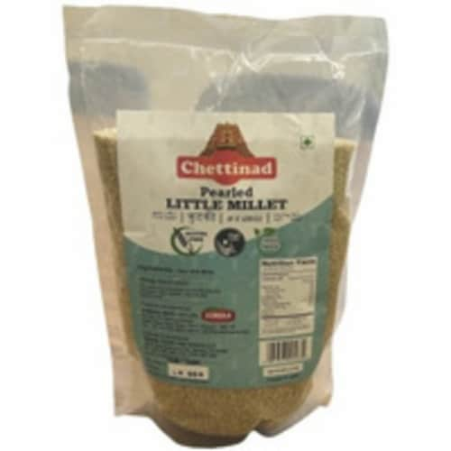 Chettinad Pearled (Unpolished) Little Millet - 2 Lb Perspective: front