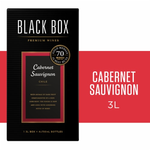 Black Box Cabernet Sauvignon Red Wine Perspective: front