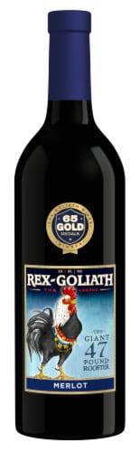 Rex-Goliath Merlot Red Wine Perspective: front