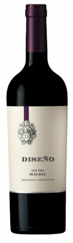 Diseno Malbec Red Wine Perspective: front