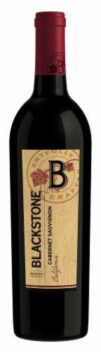 Blackstone Cabernet Sauvignon Red Wine Perspective: front