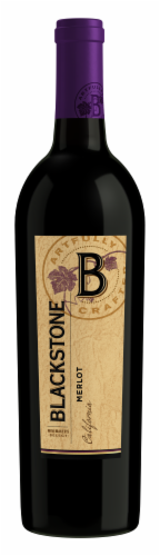 Blackstone Winemakers Select Merlot Red Wine Perspective: front