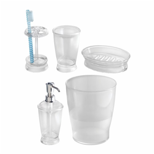 iDesign Bath Accessories Combo Set Perspective: front