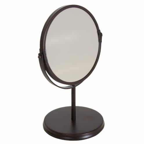 iDesign Vanity Swivel Mirror - Bronze Perspective: front