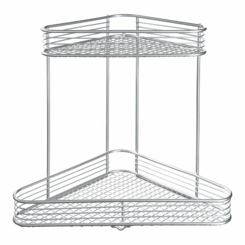 iDesign Vienna 2 Tier Corner Shelf Perspective: front