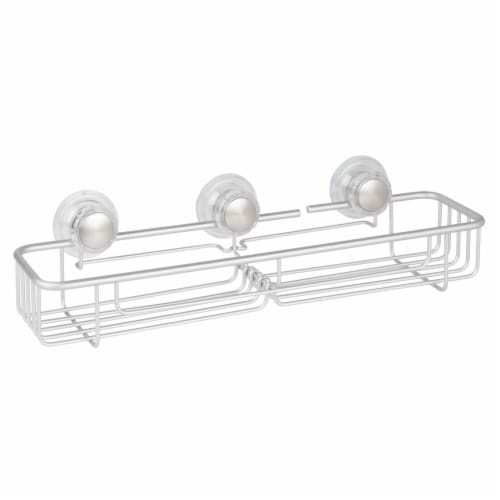 iDesign Metro Turn-N-Lock XL Shower Caddy Basket Perspective: front