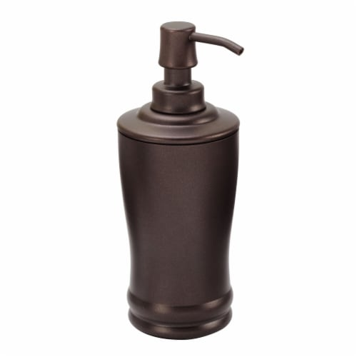 iDesign Olivia Tall Soap Pump - Bronze Perspective: front