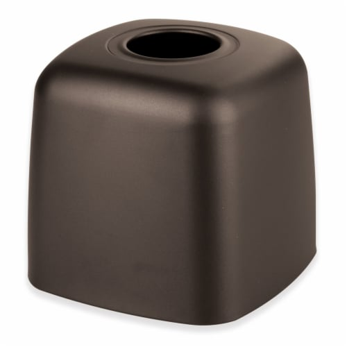iDesign Olivia Bronze Boutique Tissue Holder - Brown Perspective: front