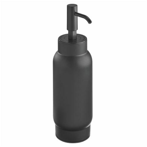 iDesign Austin Soap Pump - Matte Black Perspective: front