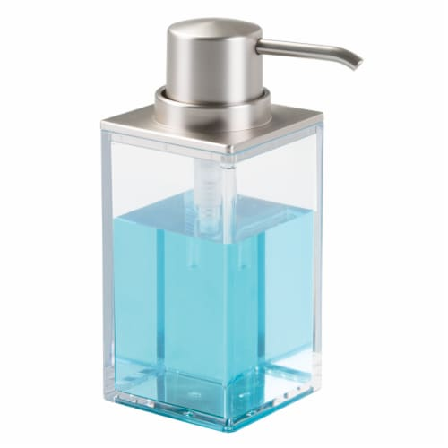 iDesign Clarity Soap Pump - Clear Perspective: front