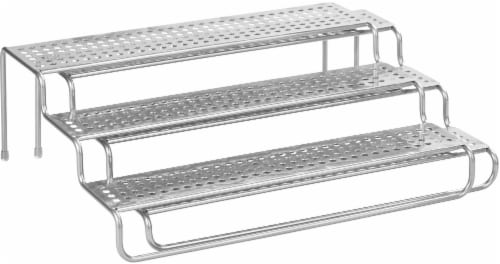 InterDesign Classico Expandable Spice Rack - Silver Perspective: front