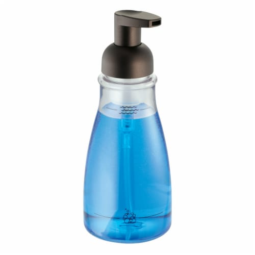 InterDesign Foaming Soap Pump - Bronze Perspective: front