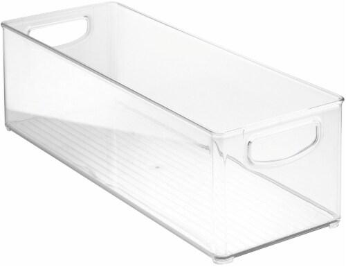 InterDesign Kitchen Binz Storage Container - Clear Perspective: front
