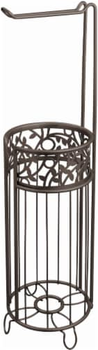 iDesign Vine Toilet Paper Holder - Bronze Perspective: front