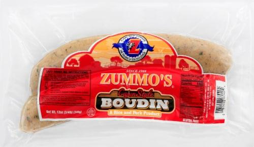 Zummo's Cajun Style Boudain Perspective: front