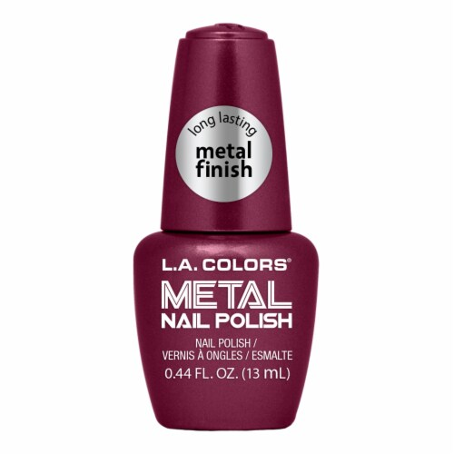 L.A. Colors Metal Nail Polish - Marvelous Perspective: front
