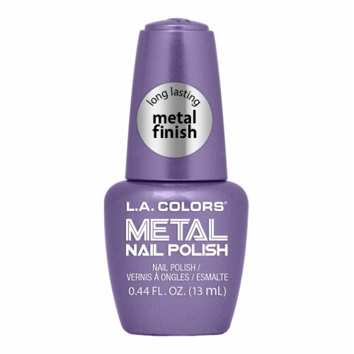 L.A. Colors Metal Nail Polish - Majestic Perspective: front