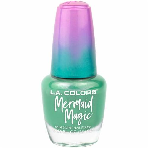 L.A. Colors Mermaid Magic Nail Polish - Sea Life Perspective: front