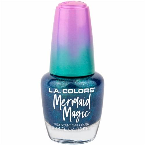 L.A. Colors Mermaid Magic Nail Polish - Mermaid Perspective: front