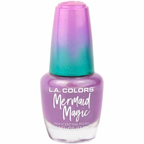 L.A. Colors Mermaid Magic Nail Polish - Mystical Perspective: front