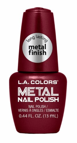 L.A. Colors Dynasty Metal Nail Polish Perspective: front