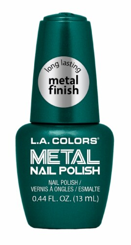 L.A. Colors Jaded Metal Nail Polish Perspective: front