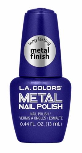 L.A. Colors Glacier Metal Nail Polish Perspective: front