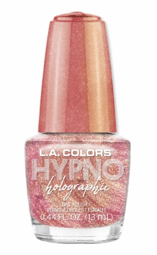 L.A. Colors Hypno Holographic Sentiment Nail Polish Perspective: front